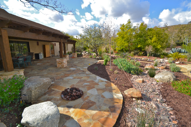 Low maintenance landscape design poirier garden designs for Backyard low maintenance landscaping ideas
